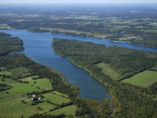 Fellows Lake is about six miles north of Springfield