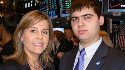 Doris Perez and her son, Emil Perez.