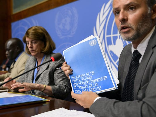 Israel: U.N. report on Gaza war is biased