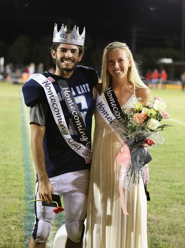 MIA 2017 Homecoming King Jack Fabian and Queen Olivia