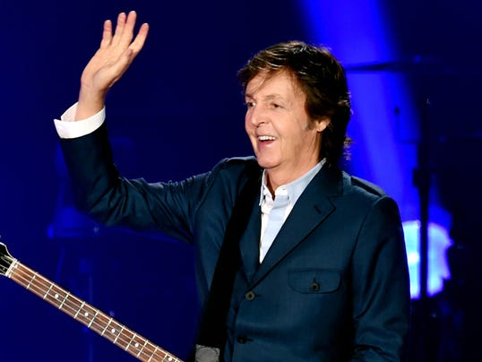 Paul McCartney Performs At PETCO Park