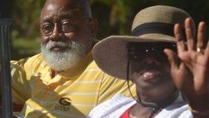 Grambling President Willie D. Larkin and  Vivian Larkin in Cuba exploring educational collaborations for GSU.