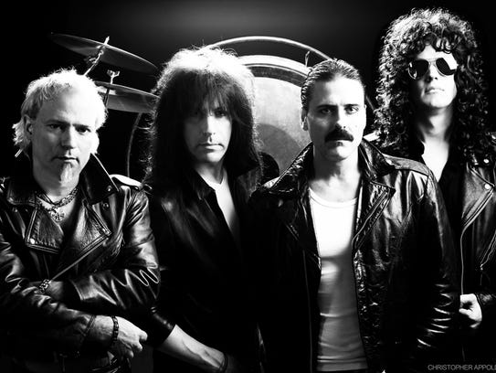 Joseph Russo (third from left) and Almost Queen have