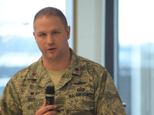Maj. Daniel Guy