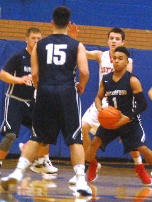 """Rutherford junior guard Abellany """"Johnny"""" Mendez (1) will be looked upon for more this season."""