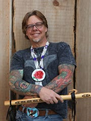Jan Michael Looking Wolf will headline 7:45 p.m. Saturday, June 27, in the Amphitheater at the World Beat Festival.