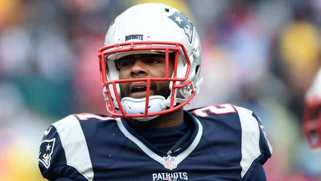 New England Patriots cornerback Malcolm Butler (21) during the first half against the New York Jets at Gillette Stadium.
