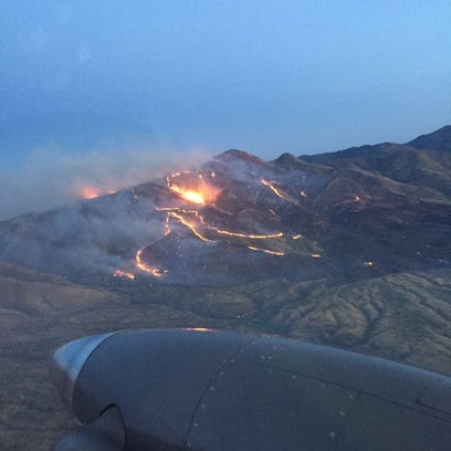 Winds, low humidity spur Sawmill Fire to 20K acres south of Tucson