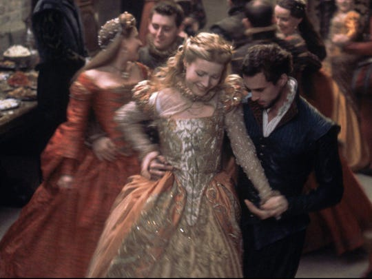 """Gwyneth Paltrow and Joseph Fiennes star in """"Shakespeare in Love."""""""