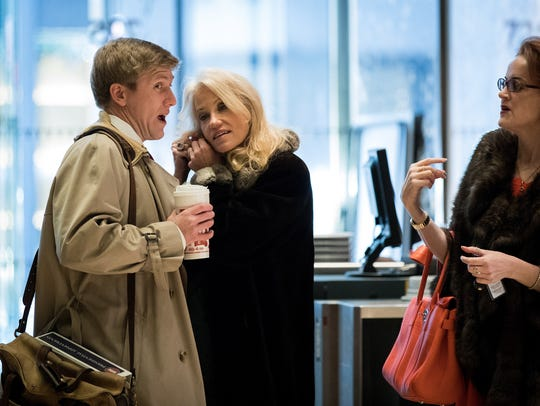 Republican political strategists Nick Ayers and Kellyanne