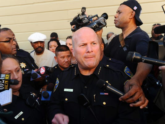 EPA USA SAN FRANCISCO POLICE CHIEF RESIGNS CLJ POLICE USA CA