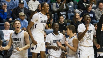 Ranney School celebrate their SCT Title.
