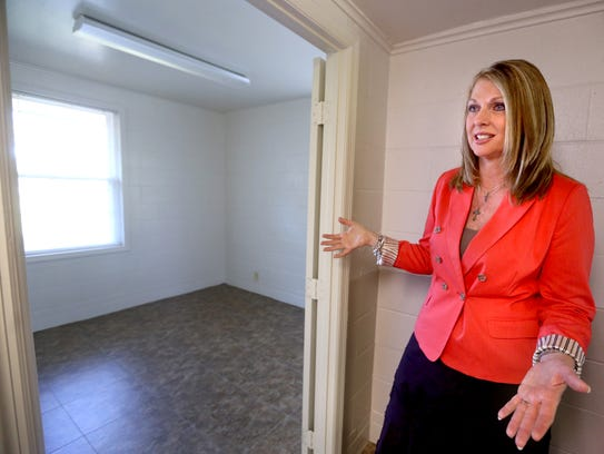 Lisa Terry, CEO of the Hope Clinic, talks about renovations