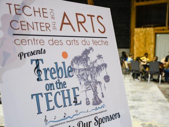 Teche Center for the Arts host Treble on the Teche.