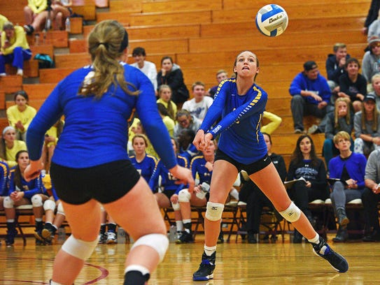 Sophomore hitter Emma Ronsiek led O'Gorman with 259 kills this season.