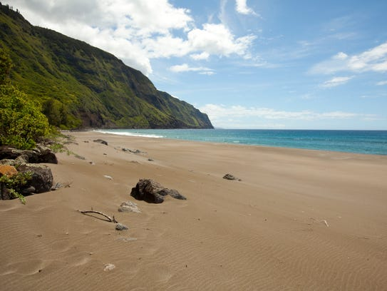 The beaches are uncrowded and pristine.