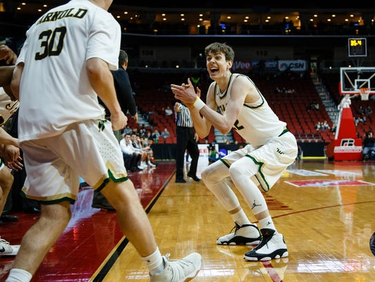 Iowa City West's Patrick McCaffery, an Iowa recruit, is one of the state's top-ranked players regardless of class.