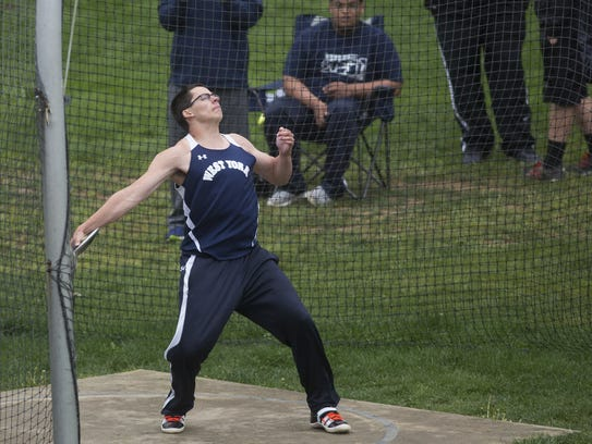 West York's Luke Hoffman will compete at the Penn Relays