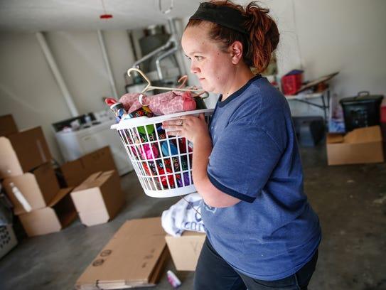 Ashley Glenn packs up the home she thought she was