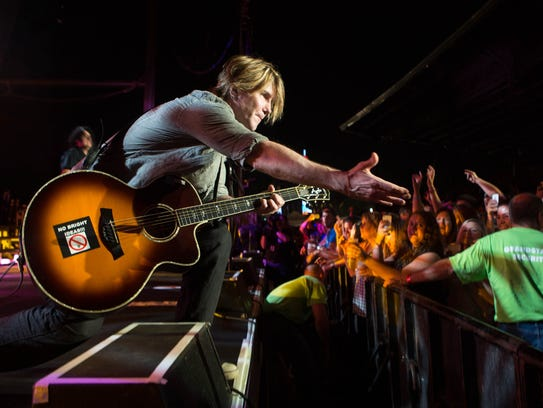 2014: Goo Goo Dolls at the Iowa State Fair Grandstand.