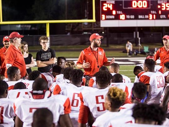 August 25, 2017 - Germantown High School head coach