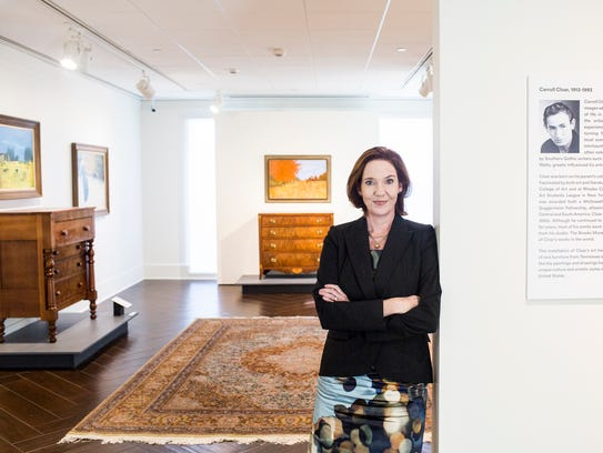 Emily Ballew Neff, executive director of the Memphis Brooks Museum of Art