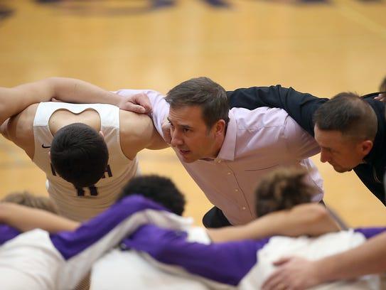 North Kitsap boys basketball coach Scott Orness and