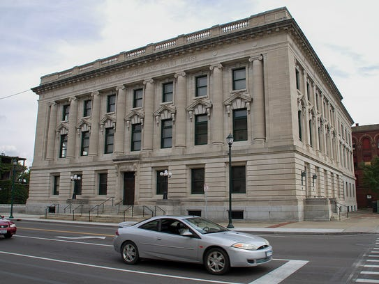 The Federal Building on East Church Street is also