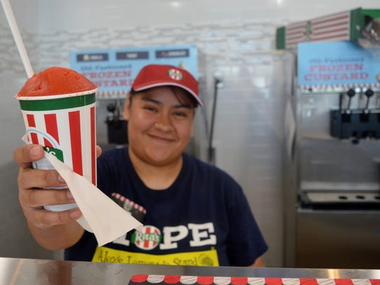 Rita's Italian Ice in Visalia offers a twist on desserts