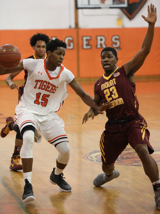 Mount Vernon vs Spring Valley basketball