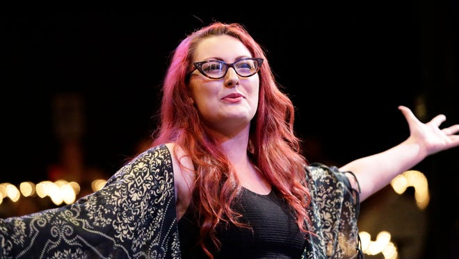 """Delaney Amatrudo, a rising junior at New York University's Tisch School of the Arts, plays the lead role in """"The Last Five Years."""""""