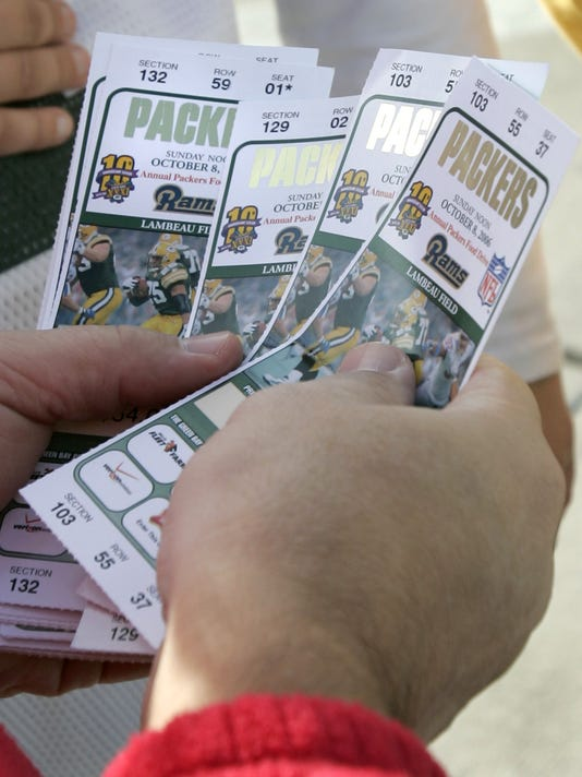 Packers tickets
