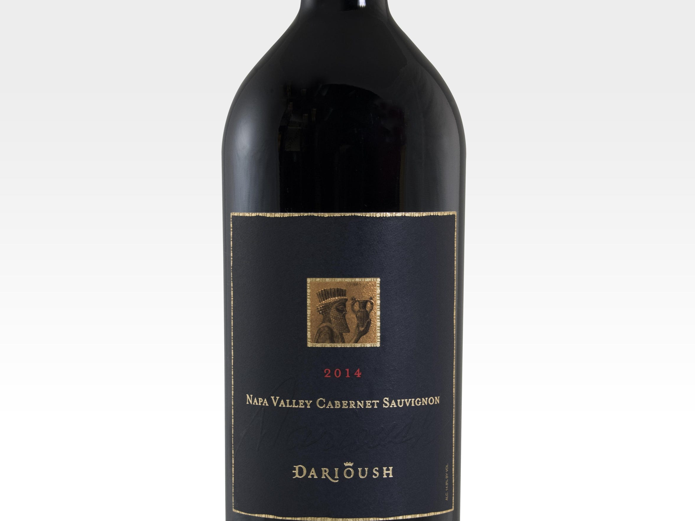The '14 Darioush Napa Valley cabernet sauvignon is