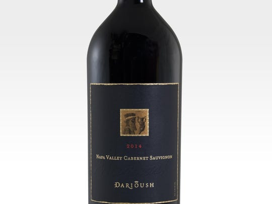 The '14 Darioush Napa Valley cabernet sauvignon is paired with Persian stews.