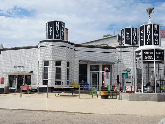 City Service Brewing is located in a refurbished 1930s