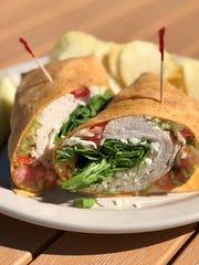Turkey wrap at NeNe's Kitchen.
