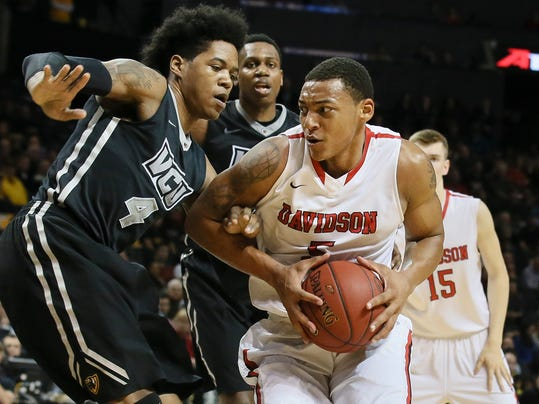 davidson falls to vcu but touts its resume as ncaa worthy