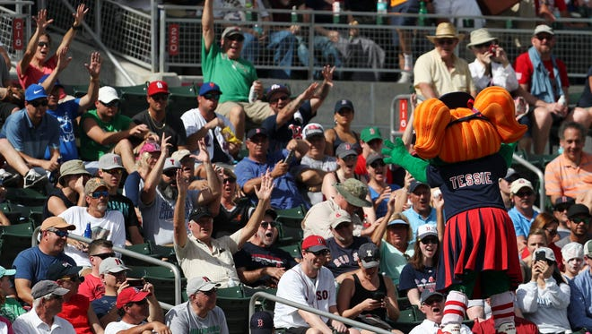 New, protective netting will rise above and across both dugouts at JetBlue Park, spring training home of the Boston Red Sox. The nets will be installed prior to Feb. 22, when the 2018 exhibition season begins.