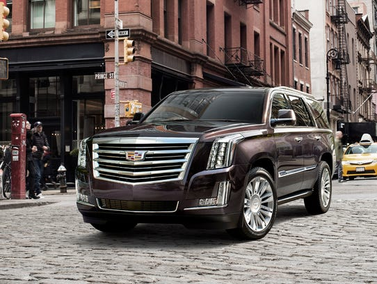 General Motors noted that its Cadillac Escalade sold