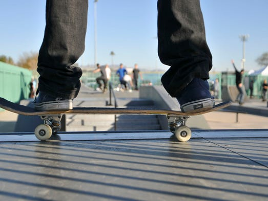 June 21 is Go Skateboarding Day! In honor, check out some of coolest skating photos from Arizona Republic photographers.