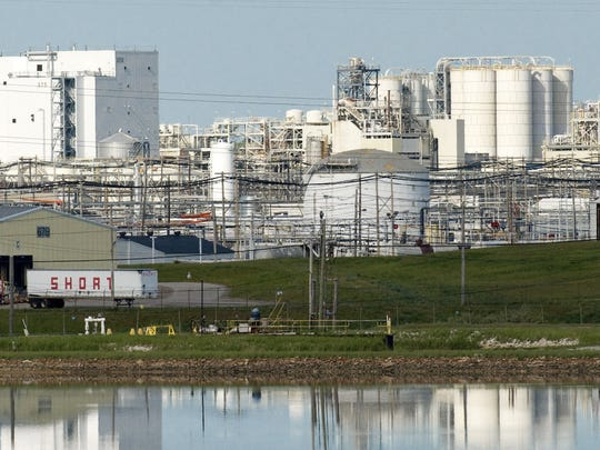 This May 28, 2008 file photo shows the Dow Chemical Co. industrial site in Midland, Mich.