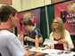 """Lindsay Wagner, the """"Bionic Woman"""" signs autographs"""