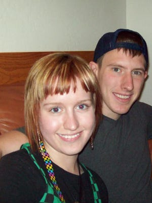 Jana Schwindt with her brother Peter Kassig, who was adopted but tracked down his biological siblings when he turned 18. Kassig was confirmed killed on Nov. 16 by the Islamic State group.
