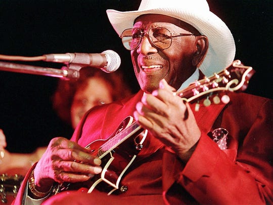 """Yank Rachell recorded pre-World War II blues songs """"Diving Duck Blues"""" and """"New Minglewood Blues."""""""