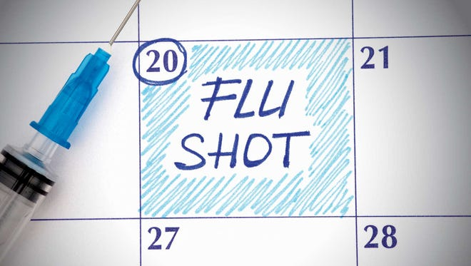 Dr. Chery recommends the flu vaccine for all persons older than six months who have no medical conditions that would keep them from being vaccinated.
