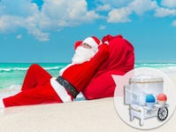 CHRISTMAS IN JULY: Let it Snow-CONE