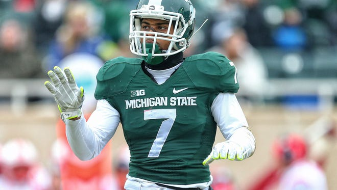 It sounds like it's going to be a tough week for MSU junior safety Demetrious Cox.