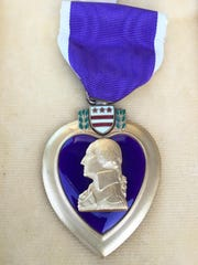 Dean Shipman's Purple Heart was lost for several years.