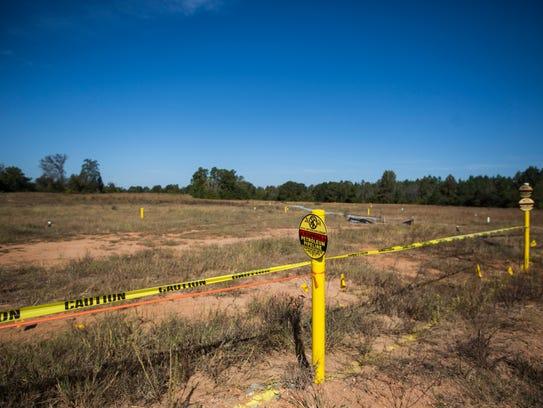 The Plantation Pipe Line gasoline spill saturated farmland