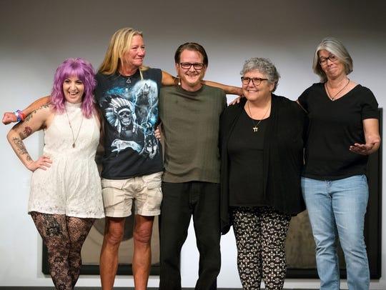 "Southwest Florida Storytellers Project's ""Tattoo Tales II"" visits Davis Art Center next week."